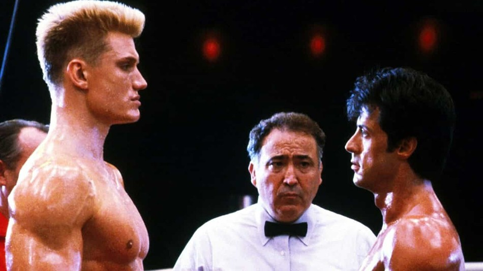 A young Dolph in Rocky IV